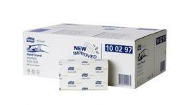 100297 Tork Premium interfold kéztörlő, extra soft H2 rendszerhez