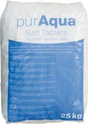 Puraqua regeneráló sótabletta (25kg-os)