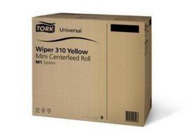 120144 Tork Universal 310 tekercses törlő, mini, sárga ,M1 rendszerhez