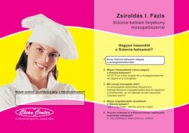 Sidonia-balsam I. fázis kisérőmatrica