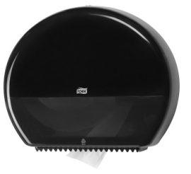 554008 Tork műanyag Jumbo toalettpapír adagoló, fekete  T1 rendszer