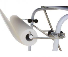 Orvosi papírlepedő tartó ágyra szerelhető acél