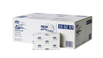 Image of 100297 Tork Premium interfold kéztörlő, extra soft H2 rendszerhez